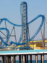 iron shark coaster