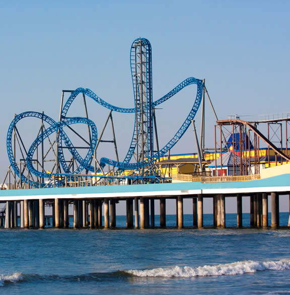 The Peir: Decrospective: Pleasure Pier, Galveston, TX